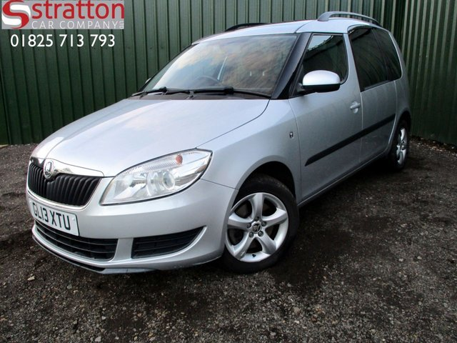 2013 13 SKODA ROOMSTER 1.6 SE PLUS TDI CR 5d 103 BHP