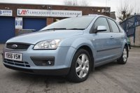 USED 2007 56 FORD FOCUS 1.6 SPORT 16V 5d AUTO 101 BHP
