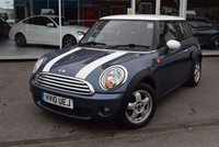 USED 2010 10 MINI HATCH COOPER 1.6 COOPER 3d 122 BHP FINANCE TODAY WITH NO DEPOSIT