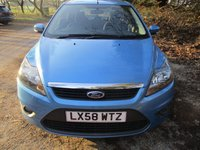 USED 2008 58 FORD FOCUS 1.6 ZETEC 5d 100 BHP ONLY 52k - LONG MOT