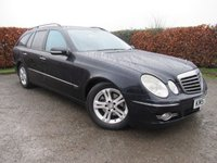 USED 2007 57 MERCEDES-BENZ E CLASS 2.1 E220 CDI AVANTGARDE 5d SERVICE HISTORY * 12 MONTHS MOT * SAT NAV * FULL LEATHER * CRUISE CONTROL