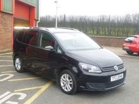 2014 VOLKSWAGEN TOURAN 1.6 SE TDI BLUEMOTION TECHNOLOGY DSG 5d AUTO 106 BHP £11450.00