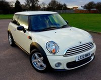 USED 2012 12 MINI ONE 1.6 ONE AVENUE 3d 98 BHP