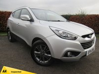USED 2014 14 HYUNDAI IX35 1.7 SE CRDI 5d 6 SPEED GEARBOX, CRUISE CONTROL, PARKING SENSORS