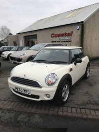 USED 2010 60 MINI HATCH FIRST 1.6 FIRST 3d 75 BHP