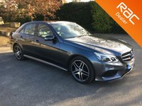 USED 2016 66 MERCEDES-BENZ E CLASS 3.0 E350 BLUETEC AMG NIGHT EDITION PREMIUM 4d AUTO 255 BHP Low Mileage!! Full Heated Electric Leather Seats, Sat Nav, Parking Camera