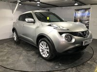 USED 2016 16 NISSAN JUKE 1.2 N-CONNECTA DIG-T 5d 115 BHP Bluetooth  :  Sat Nav  :  DAB Radio   :   Cloth upholstery    :    Rear view camera    :    Full Nissan service history