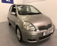 2005 TOYOTA YARIS COLOUR COLLECTION VVT-I £1750.00