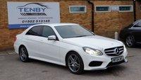 2014 MERCEDES-BENZ E CLASS 2.1 E250 CDI AMG SPORT 4d AUTO 202 BHP £13484.00
