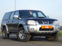USED 2004 04 NISSAN NAVARA 2.5 D22 PICK UP 4d 131 BHP DOUBLE CAB DRIVES AND PERFORMS SUPERB