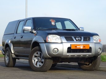 2004 NISSAN NAVARA 2.5 D22 PICK UP 4d 131 BHP DOUBLE CAB £2990.00