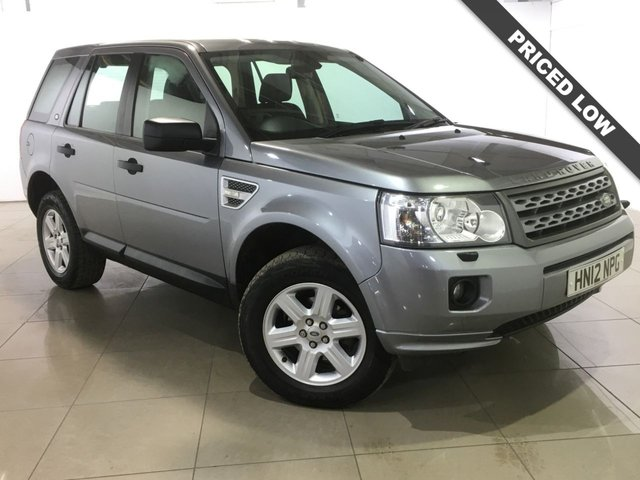 View our 2012 12 LAND ROVER FREELANDER 2.2 TD4 GS 5d 150 BHP