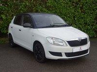 2013 SKODA FABIA 1.2 S 12V 5d 60 BHP £3990.00