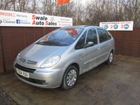 USED 2004 04 CITROEN XSARA PICASSO 1.7 PICASSO EXCLUSIVE 16V 5d 117 BHP FINANCE AVAILABLE FROM £14 PER WEEK OVER 2 YEARS - SEE FINANCE LINK FOR OPTIONS
