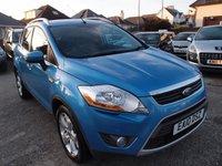2010 FORD KUGA 2.0 TITANIUM TDCI 2WD 5d 134 BHP £7495.00