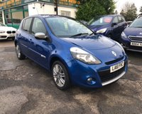 USED 2011 61 RENAULT CLIO 1.6 GT LINE TOMTOM VVT 5d AUTO 111 BHP