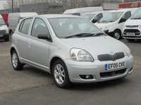 2005 TOYOTA YARIS 1.3 COLOUR COLLECTION VVT-I 5d 86 BHP £SOLD