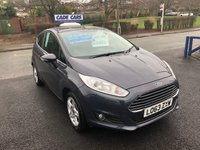 USED 2014 63 FORD FIESTA 1.2 ZETEC 3d 81 BHP Buy with confidence from a garage that has been established  for more than 25 years.