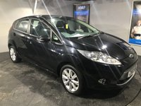 USED 2010 10 FORD FIESTA 1.4 ZETEC 16V 5d 96 BHP Bluetooth   :   Cloth upholstery   :      Heated front screen       :       Climate Control/Air-Conditioning       :       Isofix fittings     :   Rear parking sensors    :    Fully stamped service history