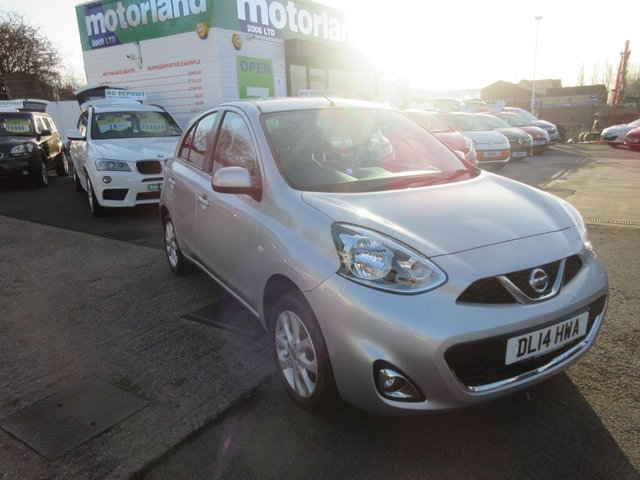 USED 2014 14 NISSAN MICRA 1.2 ACENTA 5d 79 BHP ***VERY LOW MILEAGE***