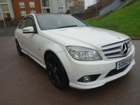 USED 2010 60 MERCEDES-BENZ C CLASS 2.1 C250 CDI BLUEEFFICIENCY SPORT 4d 204 BHP FULL SERVICE RECORD* PANORAMIC SUNROOF + BLUETOOTH + NAVIGATION SYSTEM +  PARKING AID +