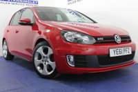 USED 2011 61 VOLKSWAGEN GOLF  2.0 GTI 5DR MEGA LOW MILES - EXCELLENT SERVICE HISTORY - ALLOY WHEELS - SAT NAV - BLUETOOTH - DAB RADIO - PARKING SENSORS