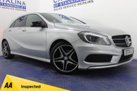 USED 2014 14 MERCEDES-BENZ A CLASS 1.5 A180 CDI BLUEEFFICIENCY AMG SPORT 5DR 4 STAMPS-B/TOOTH-LED LIGHTS