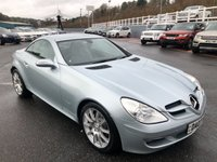 USED 2007 07 MERCEDES-BENZ SLK 1.8 SLK200 KOMPRESSOR 2d 161 BHP Only 52,000 miles wit service history. Air scarf & heated seats
