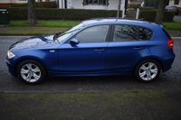 USED 2008 08 BMW 1 SERIES 1.6 116I SE 5d 121 BHP SERVICE HISTORY, BLUETOOTH, SPORTS SEATS, 6 SPEED MANUAL, START STOP