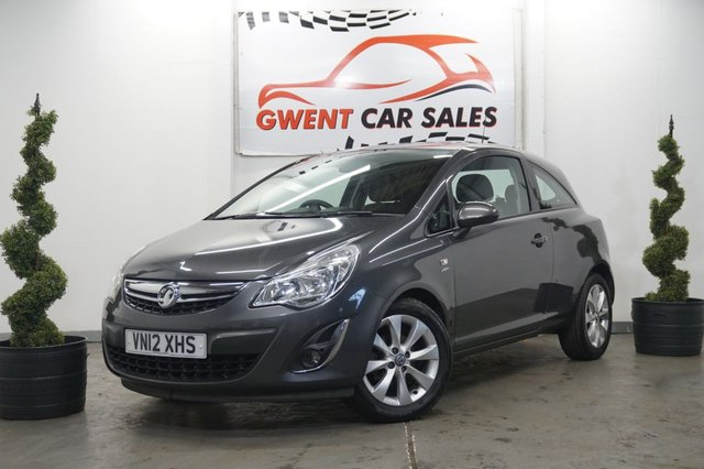 USED 2012 12 VAUXHALL CORSA 1.4 ACTIVE AC 3d 98 BHP BLUETOOTH, GREAT FIRST CAR, HPI CLEAR
