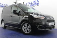 USED 2016 65 FORD TRANSIT CONNECT 1.6 200 LIMITED P/V 1d 114 BHP TOP OF THE RANGE-BLUETOOTH-HEATED SEAT-HEATED WINDSCREEN-MUST BE SEEN