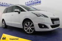 USED 2015 65 PEUGEOT 5008 2.0 BLUE HDI S/S ALLURE 5DR 6 STAMPS-SAT NAV-B/TOOTH