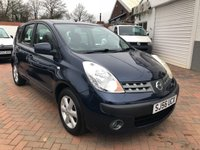 USED 2006 56 NISSAN NOTE 1.4 SE 5d 87 BHP