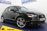 USED 2012 61 AUDI A1 1.4 TFSI S LINE 3DR NATIONWIDE DELIVERY-WATCH VID!