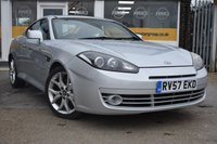 USED 2007 57 HYUNDAI S-COUPE 2.0 SIII 3d AUTO 141 BHP NO DEPOSIT FINANCE AVAILABLE
