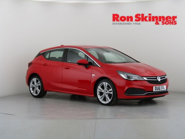 View our 2018 18 VAUXHALL ASTRA 1.4 SRI VX-LINE NAV 5d 148 BHP