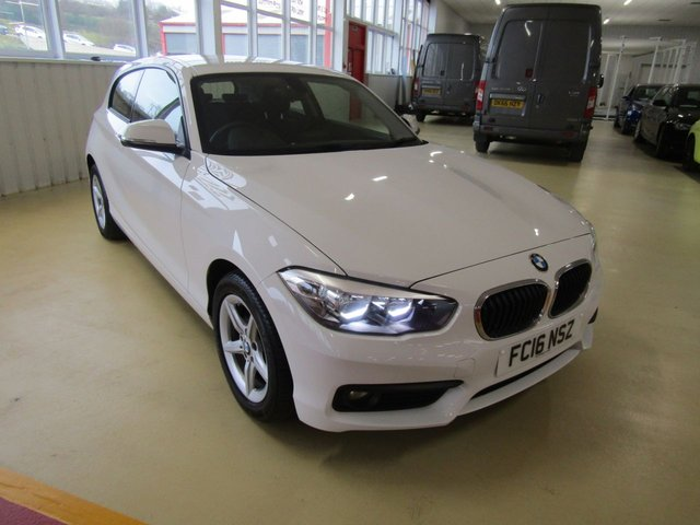 View our 2016 16 BMW 1 SERIES 1.5 116D SE 3d AUTO 114 BHP