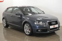 USED 2012 12 AUDI A3 1.6 TDI S LINE 3d 103 BHP LOW TAX + SERVICE HISTORY + LEATHER + PART EX WELCOME