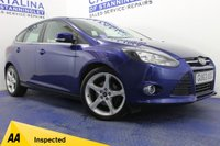USED 2013 63 FORD FOCUS 1.6 TITANIUM NAVIGATOR 5DR 5 STAMPS-SONY SOUND-B/TOOTH