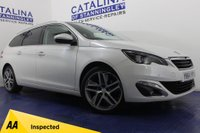 USED 2014 64 PEUGEOT 308 2.0 BLUE HDI SW FELINE 5DR PAN ROOF-SAT NAV-B/TOOTH-A/C