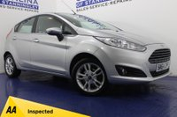 USED 2015 64 FORD FIESTA 1.2 ZETEC 5DR 4 STAMPS-B/TOOTH-REAR SENSORS