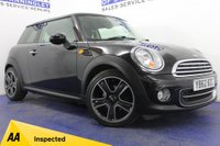 USED 2012 62 MINI HATCH COOPER 1.6 COOPER 3DR DAB-B/TOOTH-1/2 LEATHER