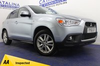 USED 2012 61 MITSUBISHI ASX  1.8 DI-D 3 5DR 7 STAMPS-AUX-HEATED SEATS