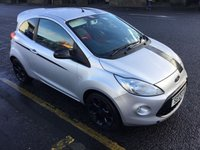 USED 2012 12 FORD KA 1.2 GRAND PRIX II 3d 69 BHP OUR  PRICE INCLUDES A 6 MONTH AA WARRANTY DEALER CARE EXTENDED GUARANTEE, 1 YEARS MOT AND A OIL & FILTERS SERVICE.     6 MONTHS FREE BREAKDOWN COVER.     CALL US NOW FOR MORE INFORMATION OR TO BOOK A TEST DRIVE ON 01315387070 !! !!  LIKE AND SHARE OUR FACEBOOK PAGE !!