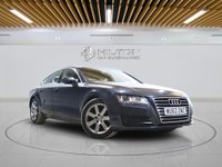 USED 2012 62 AUDI A7 3.0 TDI SE 5d AUTO 201 BHP +  AIR CON + LEATHERS
