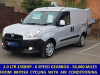2013 FIAT DOBLO 2.0 SX MULTIJET 135BHP WITH AIR CONDITIONING £5295.00