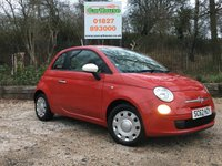 USED 2013 62 FIAT 500 1.2 COLOUR THERAPY 3dr £30 Tax, Air Conditioning