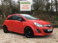 USED 2014 64 VAUXHALL CORSA 1.2 LIMITED EDITION 3dr Cruise, FSH, Low Miles
