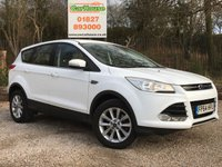 USED 2014 64 FORD KUGA 2.0 TITANIUM TDCI 5dr Great Spec, 1 Owner, FFSH