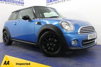 USED 2011 61 MINI HATCH COOPER 1.6 COOPER PIMLICO 3DR HEATED SEATS-B/TOOTH-ALLOYS